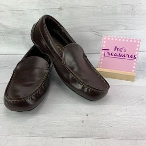 SPERRY Top Sider D-14 61317 Brown Leather Loafers